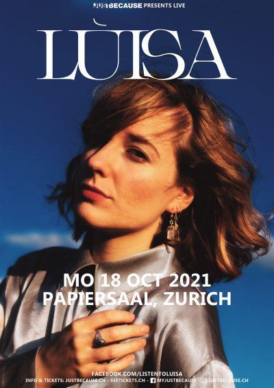 Lùisa ** VERSCHOBEN – neuer Termin 11.04.2022 ** @ Papiersaal