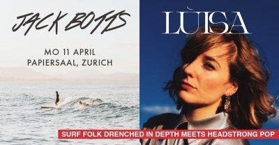 Jack Botts & Lùisa 2022-04-11