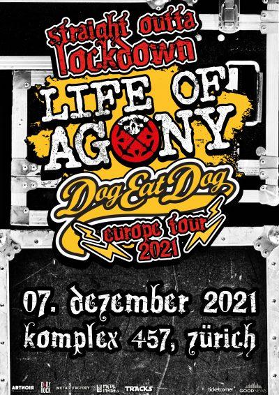 Life Of Agony & Dog Eat Dog 2021-12-07