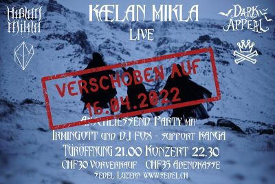 Kælan Mikla 2022-04-16