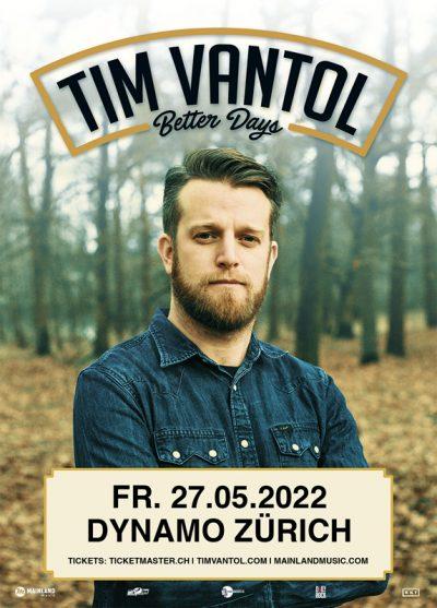 Tim Vantol ** VERSCHOBEN – neuer Termin 27.05.2022 ** @ Werk21