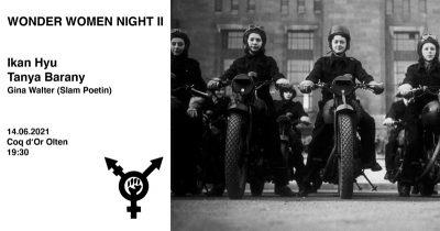 Wonder Women Night II @ Coq d'Or