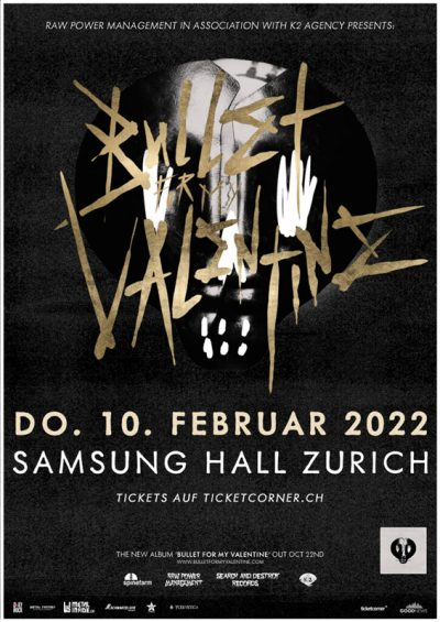 Bullet For My Valentine 2022-02-10